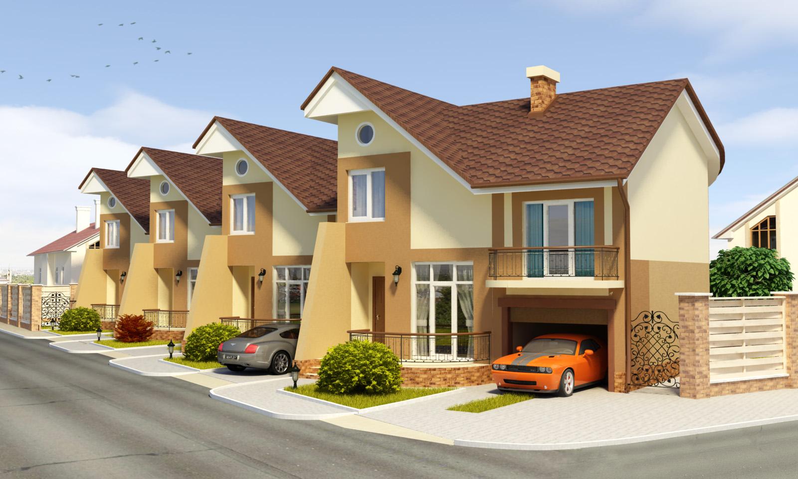 Картинка дом с квартирами