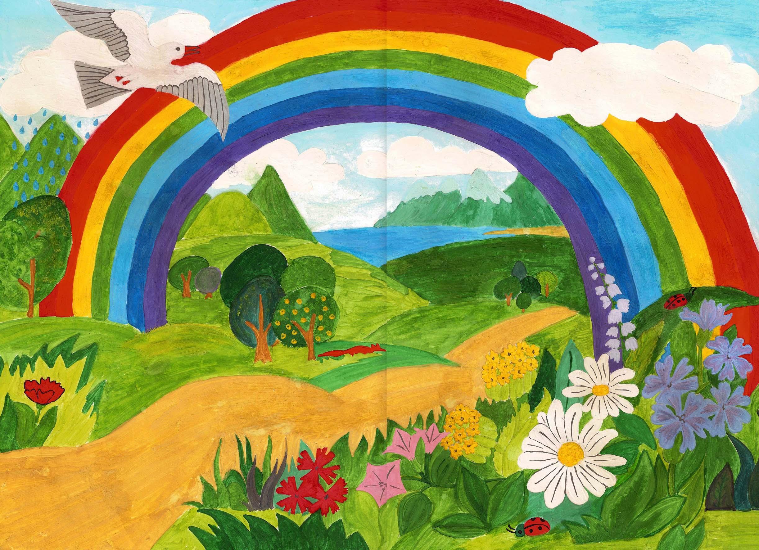 Картинки о природе глазами детей